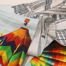 Fashion Printing Ramie Stoff für Kleidungsstück
