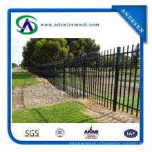 Загородка ковки чугуна /стальной трубчатый забор/садовые ограждения для продажи