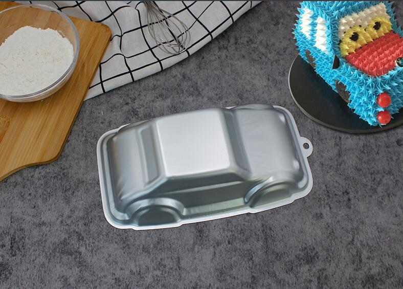 Aluminum Alloy Car Shape Cake Baking Mould (6)
