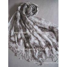 Fashion lady linen scarf,spanish flamenco manton shawl,turban for men