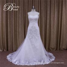 Real Sample of Mermaid Wedding Dress