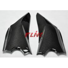 Peças da fibra do carbono da motocicleta Painel inferior da capota do assento para Suzuki Gsxr600 / 750 12