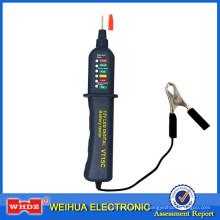 Probador automático del alternador del probador de la batería de coche con 6 LED Exhibición de luces VT5C