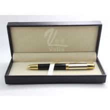 Novo modelo de Metal presente Roller Pen com caixa de presente
