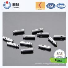 Pin en métal de précision de usinage de commande numérique par ordinateur d'usine d'OIN