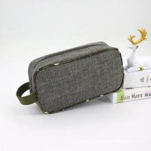 Amazon Top Selling Mens Cosmetic Bag Toiletry Kit For Mens Wash Bag With Handle Makeup Bag