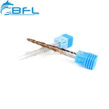 BFL- Máquina herramienta CNC Fresa de punta cónica de carburo sólido Fresa de fresado