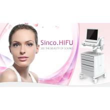 Ultrasonido enfocado de alta intensidad Hifu para la elevación de la piel de la cara y la eliminación de arrugas