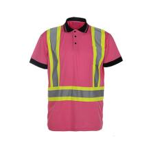 Polaire réfléchissant Haute visibilité 100% Polyester Sécurité Vêtements de circulation