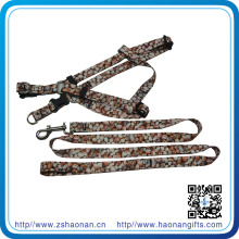 Design Colorful Pattern Dog Leash with Collar for Promotional