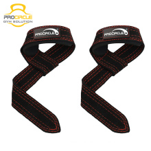 Custom Color Leather Weightlifting Wrist Straps