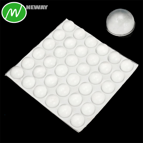 Glass Table Clear Rubber Bumpers Pads