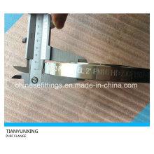 DIN2543 Pn16 Placa Aço Inoxidável F316L Flange