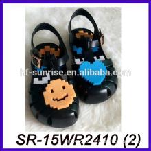 cute pvc sandals transparent sandals plastic transparent sandals