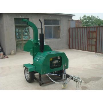 22HP diesel engine self power wood chipper
