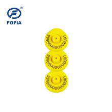 Etiqueta de oído electrónica FOFIA LF RFID Animal Tag