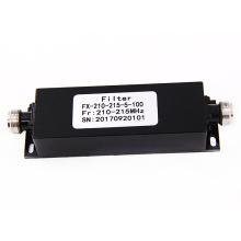 210-215 mhz NF NJ bande passante élevée arrêt puissance active rf cavité catv filtre passe-bas