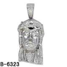 Alta qualidade moda jóias pingente de prata esterlina para homens