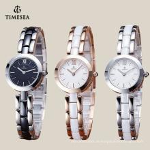 Fabrik-Preis-Japan-Quarz-keramische Uhr mit Japan-Bewegung 71071