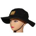 chapeau de seau de bord large de coton fait sur commande avec la ficelle