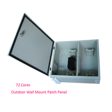 72 Cores Outdoor Wall Mount Fiber Optic Enclosure