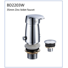 Bd2203W 35mm Zinc Single Lever Bidet Faucet for South American