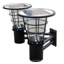 China hizo luces led al aire libre productos lámpara de pared solar JR-2602