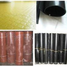 Black Red Yellow Abrasion Resiatance SBR Rubber Sheet / Roll