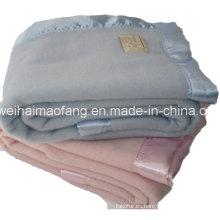 Manta tejida de Woollen 100% Pure Virgin New Wool Hotel
