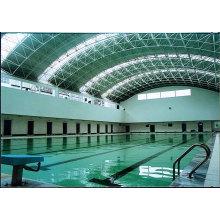 Длительный срок Гальванизировал стальную рамку крышки крыши для бассейна большой пяди