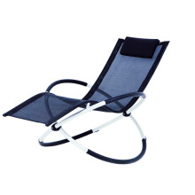 foldable alu. rocking chair