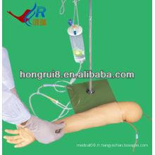 Modèle avancé de crevaison de veine de bras d'enfant, bras de formation IV