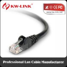 Cat5e UTP Патч-корд Cable 24awg 26awg Многожильный кабель Fluke Test RJ45