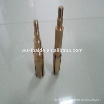 copper custom cnc Machining turning Services beryllium copper parts