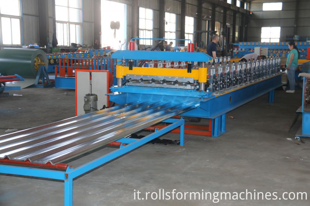 High Quality Single Layer Trapezoid Roll Forming Machine