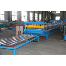 Roofing Sheet Roll Forming Machine dengan Trapezoid Tile