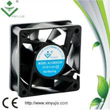 Super Quiet High Velocity Mini DC Fan 6025 60mm 60X60X25mm