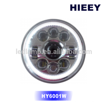 """DOT Approval 7"""" round LED high beam low beam head light offroad led headlight"""