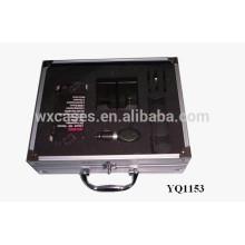 instrumento portátil alumínio maleta com espuma personalizado