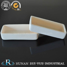 Botón de crisoles de cerámica de alúmina de alta calidad y competitivo precio