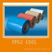 Bobines d'acier galvanisé pré-peint, diverses couleurs