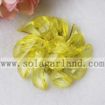 43MM Acryl Crystal Hufeisen Friesen dekorative Blumen