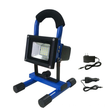Portable 30W Rechargeable Outdoor Led Flood Light