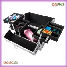 Four Trays Hard Shell Aluminum Beauty Case for PRO Makeup Artist (SACMC132)
