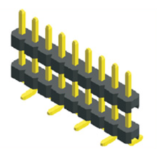 2.00mm pitch single row double plastic SMT connector.