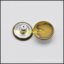Classic Brass Jeans Button for Jeans