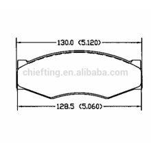D266 41060-09W25 for Nissan brake pads car