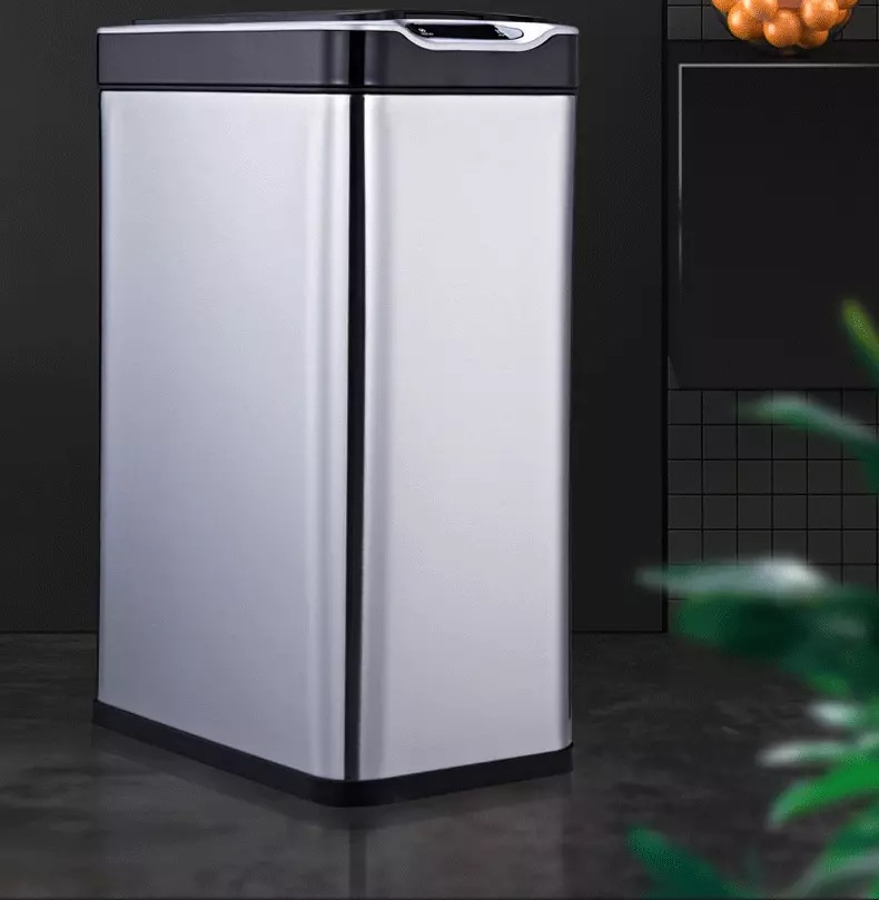 Rectangle Sensor Trash Bin
