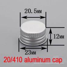 Bouchon / bouchon de bouteille en plastique à 20mm Essential Aluminium