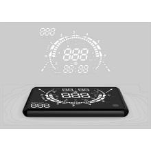Display Hud GPS para carro alarme de limite de velocidade de veículo
